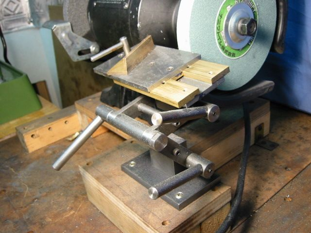 Homemade Bench Grinder Part - 29: Http://homepage3.nifty.com/amigos/grinder_guide/grinding_rest- ·  Woodworking MachineryWoodworking TipsHomemade BenchBench GrinderMetal ...