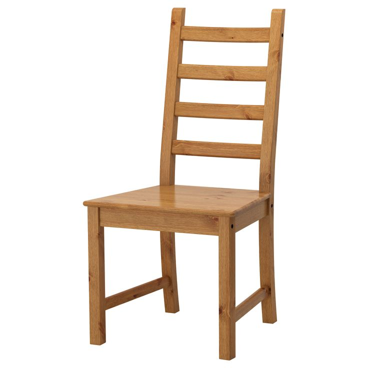 IKEA - KAUSTBY, Chair, Solid pine is a natural material which ages beautifully and gains its own unique character over time.