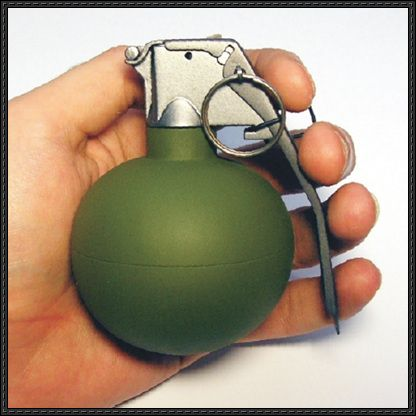 Full Size M67 Grenade Free Paper Model Download - http://www.papercraftsquare.com/full-size-m67-grenade-free-paper-model-download.html