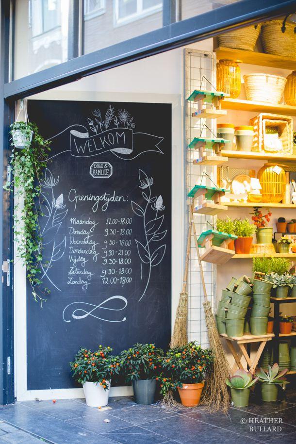 Amsterdam | Chalkboard Wall | HeatherBullard
