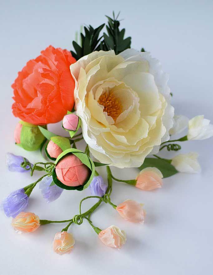 DIY-Crepe-Paper-Flower-Sweet-Pea-Tutorial