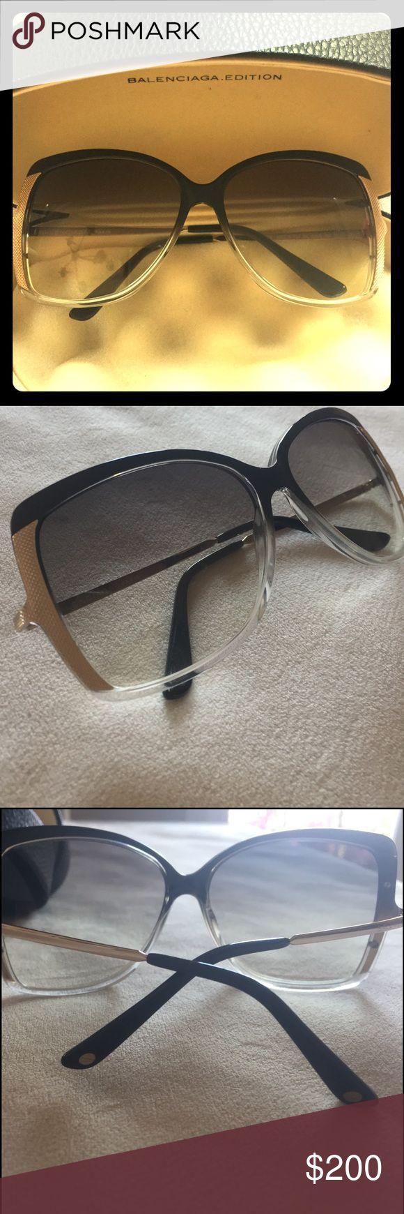 Selling this Balenciaga Edition Sunglasses on Poshmark! My username is: kesh0507. #shopmycloset #poshmark #fashion #shopping #style #forsale #Balenciaga #Accessories
