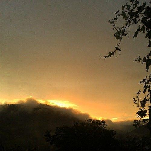Perfect sunset :-) #sunset #lesserpoland #sun #sunsetpic #instasunset #instanature #country #dark #nature #sunsetlovers #orangesky #instanature #poland #beautiful (w: Gmina Łukowica)