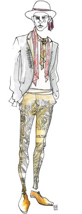 Sara Ligari #fashion_illustration