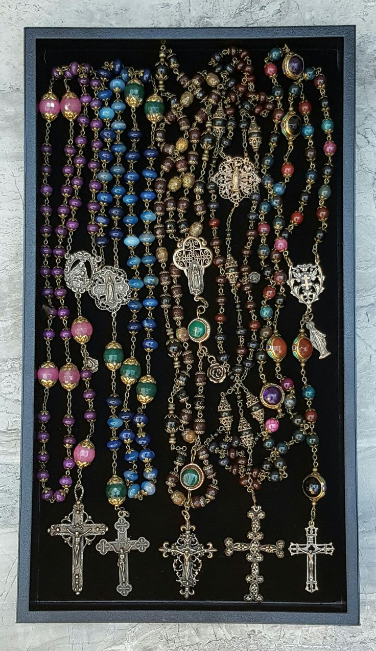 Artisan Rosaries for Health and Welness at www.blessandhealme.etsy.com