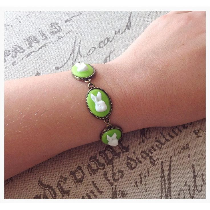 $15 Vintage Inspired Cameo Bracelet by IsabelleMaryCreations on Handmade Australia