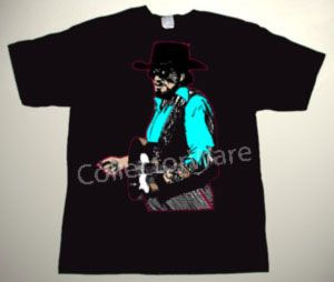 WAYLON JENNINGS drawing CUSTOM ART UNIQUE T-SHIRT Each T-shirt is individually hand-painted, a true and unique work of art indeed!  To order this, or design your own custom T-shirt, please contact us at info@collectorware.com, or visit http://www.collectorware.com/tees-waylon_jennings.htm