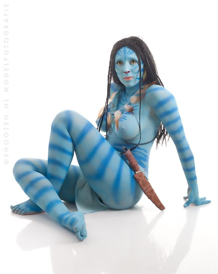 Bodypaint Nu Bleu and Neytiri (from Avatar) - Fotos de Shooten .NL - 500px