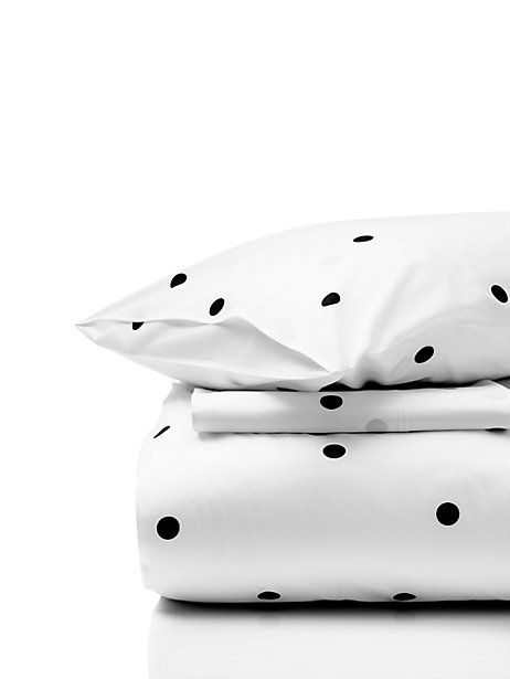 deco dot comforter set - kate spade new york