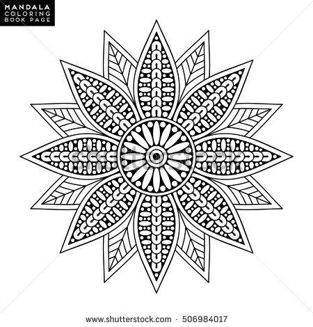 901 Best Basic Mandala Images On Pinterest Coloring