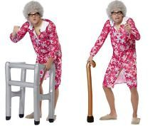 NEW Inflatable Old Granny Funny Blow Up Accessories Prop - Smiffy's Fancy Dress