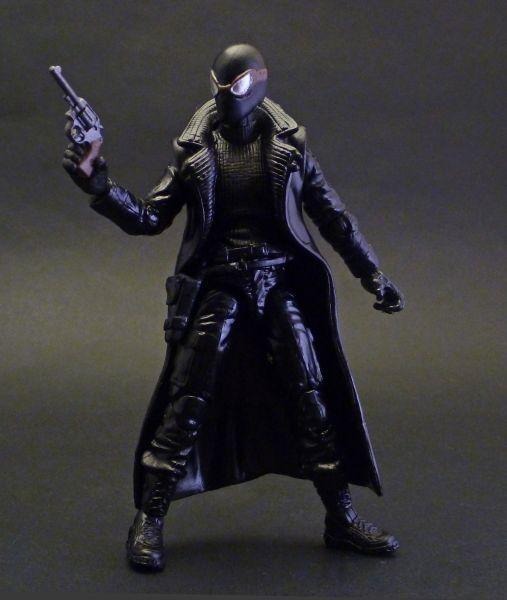 spider man noir marvel universe custom action figure. Black Bedroom Furniture Sets. Home Design Ideas
