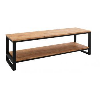 meuble tv en chêne - style industriel | at home | pinterest | tvs ... - Meuble Tv Design Fly