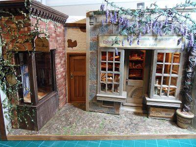 283 best Miniature Restaurants and Shops images on Pinterest