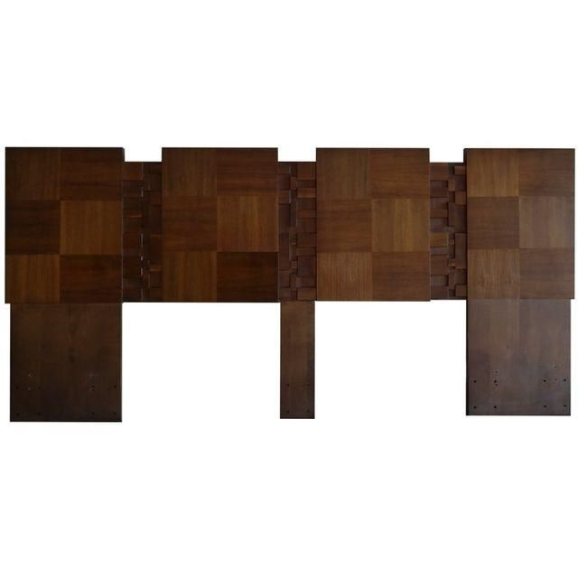 Image of Lane Brutalist California-King Headboard