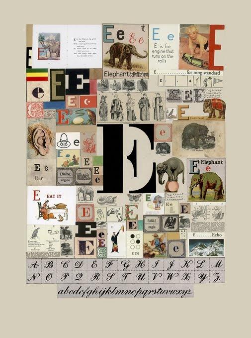 Peter Blake - Collage Alphabet