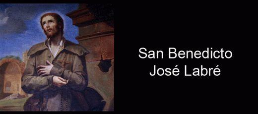 16 Abril. San Benito José Labré, patrono de los solteros los mendigos, los que no tienen hogar fijo, de los vagabundos, los peregrinos, los itinerantes, y las personas inadaptadas.