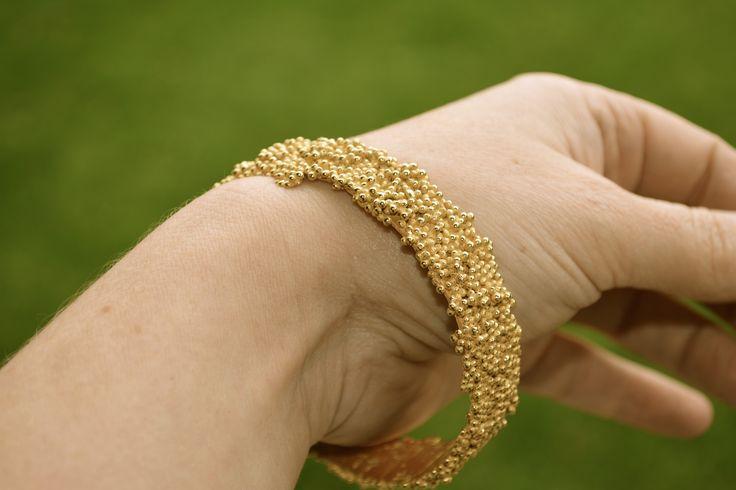 gouden armband 'Caviar'