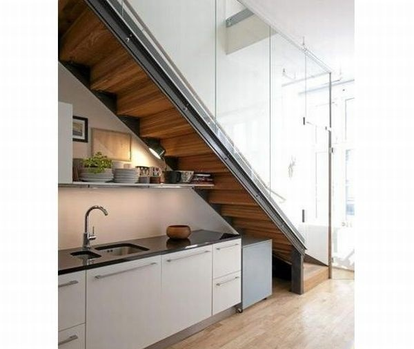 17 best images about under staircase on pinterest for Kitchen designs under stairs