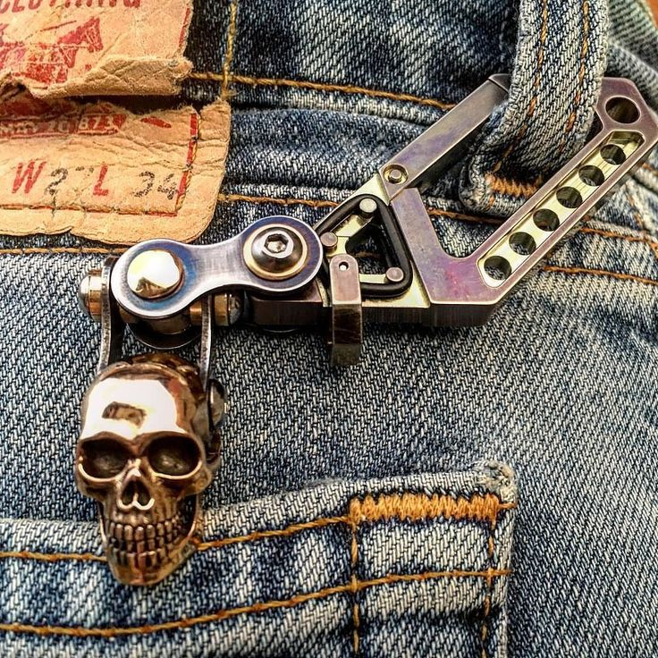"""""""You'll look around for old keys just so you can carry one of these bad-ass key…"""
