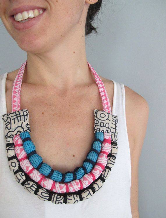 Custom Made Three Bound Strand Necklace Baby by monkeyandmum