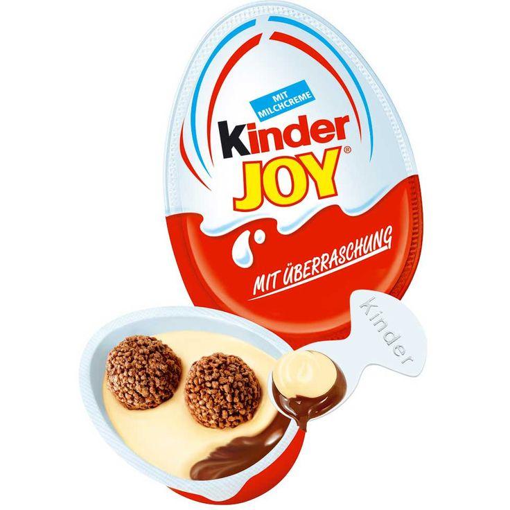 -in USA- Kinder Joy Surprise Egg VALUE PACK - 5 ct.