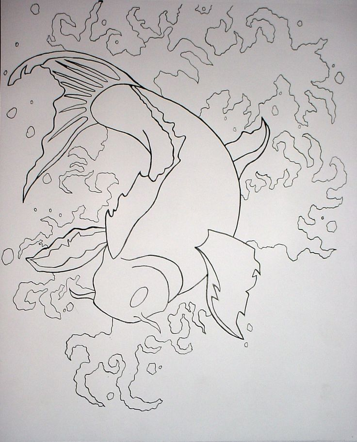 61 best images about drawing on pinterest peacocks how for Koi fish outline