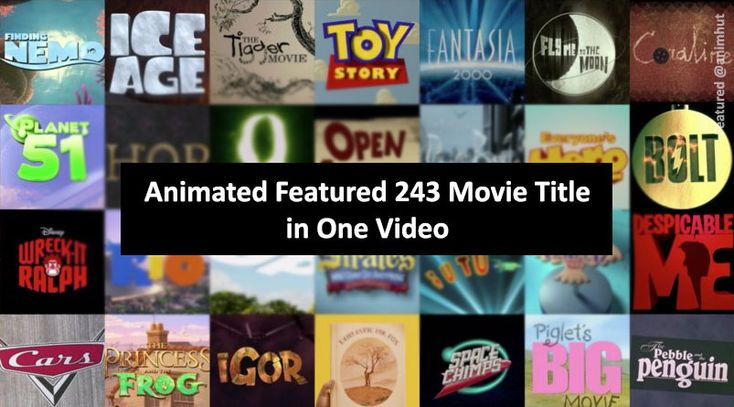 animation movie list from 1937