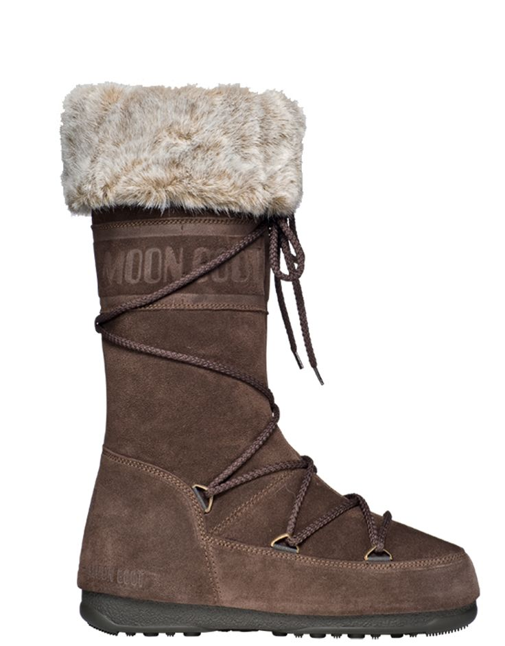 Moon Boot Butter II Dark Brown Moonboot : Après Ski Femmes : Snowleader