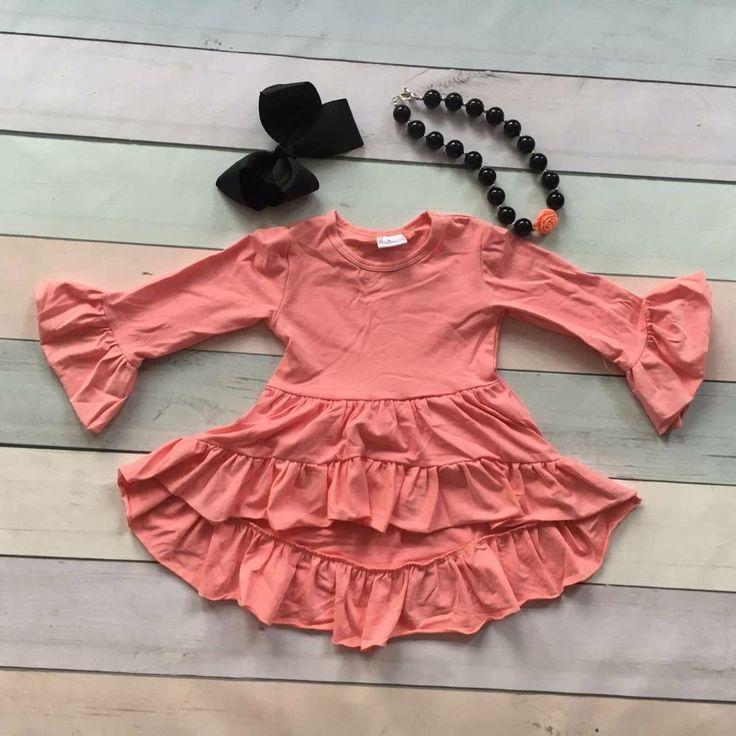 Light Pink Ruffle Dress 3PC