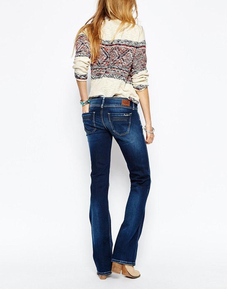 Image 2 ofPepe Jeans Pimlico Flared Jeans