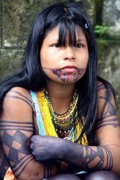 Maquillaje Nativo Americano en Pinterest | Pinturas De Cara Tribales ...