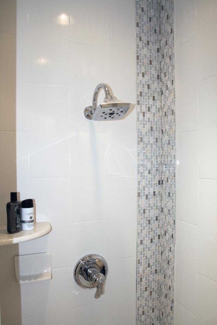 Ceramic Wall Tile Mixed With Gl Mosaic Find This Here Http