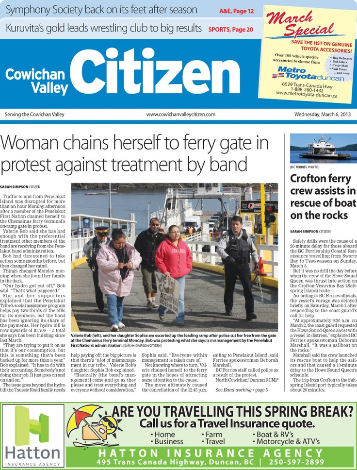 Citizen Front Page March 6, 2013