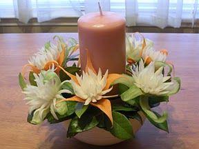 Vegetable fruit carving flowers - Vegetable Fruits Carving