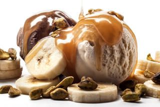 Butterscotch Ice Cream Sundae   CHOW