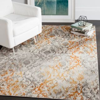 Shop for Safavieh Madison Bohemian Cream / Orange Rug (9' x 12'). Get free shipping at Overstock.com - Your Online Home Decor Outlet Store! Get 5% in rewards with Club O! - 19447658