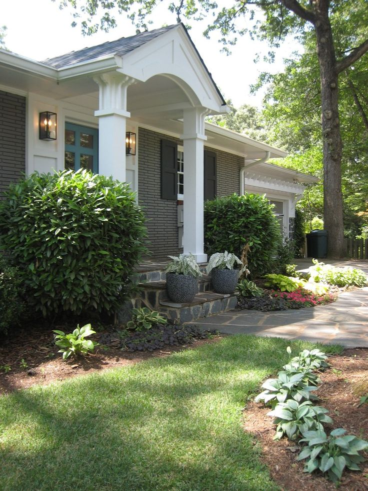 17 best images about cottage style curb appeal on pinterest modern farmhouse decks and i did - Large ranch home plans paint ...