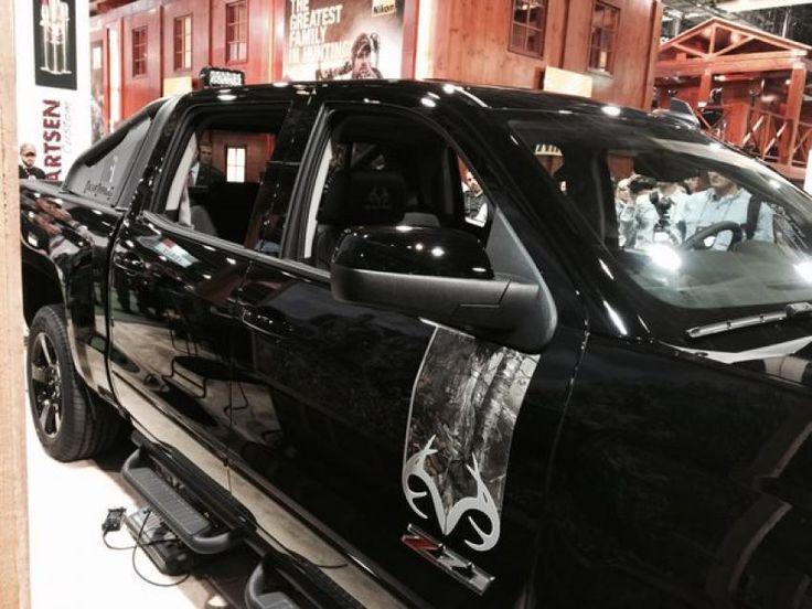 Chevy, Realtree Partner on New Silverado Realtree 2016 Edition