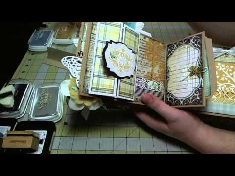 Pinner says: Kathryn Krieger makes some of the most beautiful mini albums. Tutorials are excellent. I like the tags she makes.