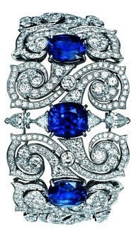 Cartier – Platinum, Sapphire, and Diamond Bracelet