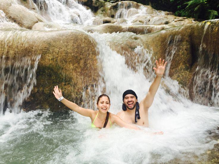 Dunn`s River Falls , Jamaica, Ocho Ríos.