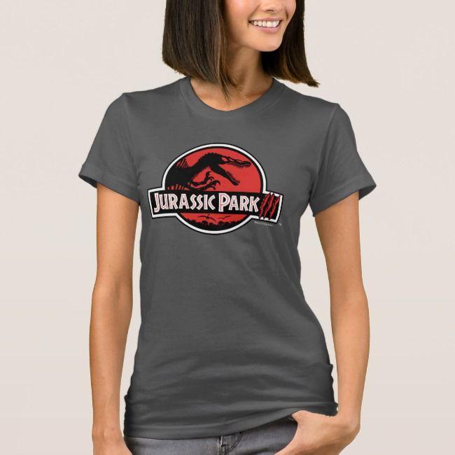Jurassic Park Iii Logo T Shirt Zazzle Com Jurassic Park T Shirt Tshirt Logo Jurassic Park