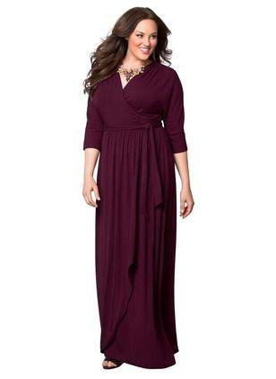 Polyester Solid 1013584/1013584 Sleeves Maxi Elegant Dresses (1013584) @ floryday.com
