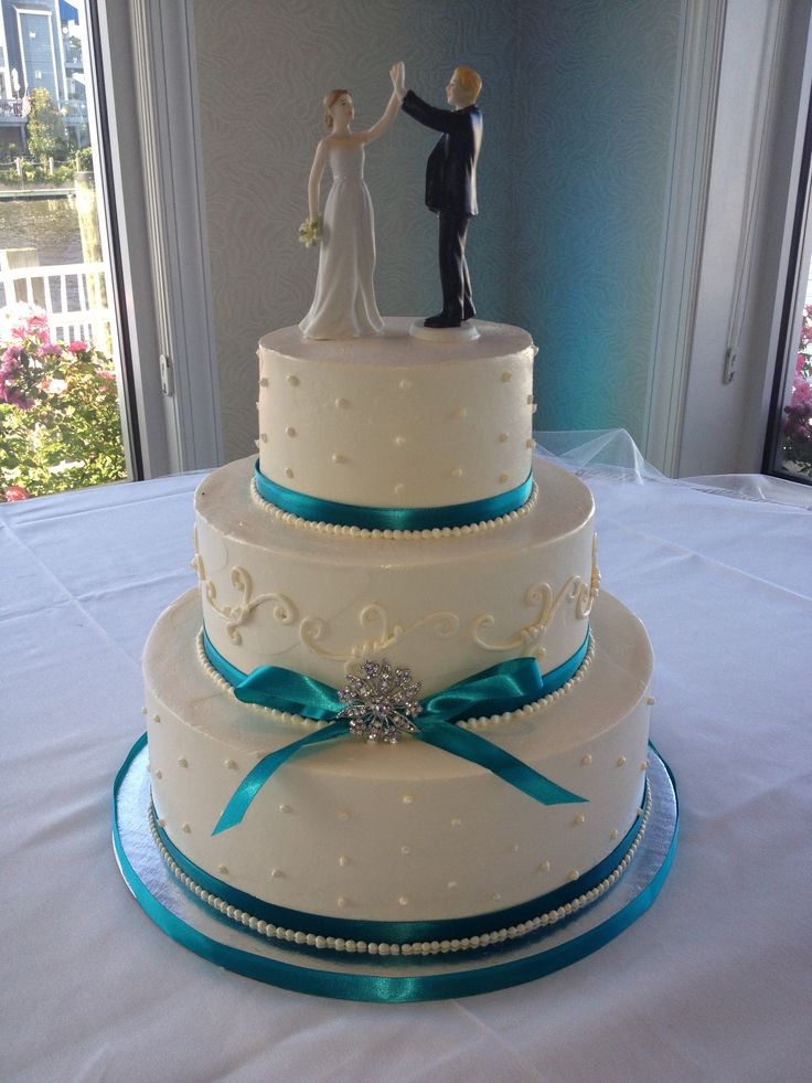 Vintage Tiffany Malibu Blue Blondie S Wedding Cakes