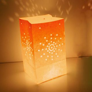 Lanternes de jardin orange - bougies - décoration de mariage et autres événements - e-options.net