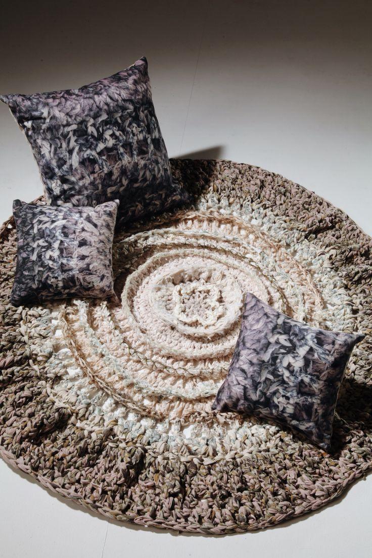 Rag-rug/ cushions