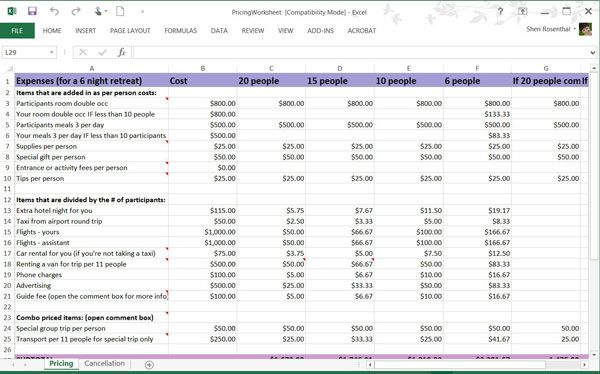 Retreat Blueprint Program - 16B - Wanderlust Entrepreneur