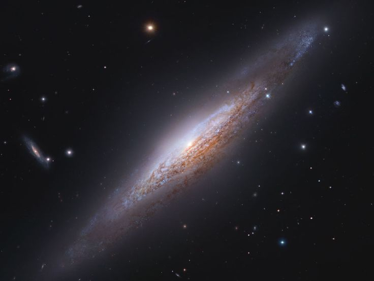 NGC 2683: Edge-On Spiral Galaxy - Astronomy Picture of the Day RSS Feed