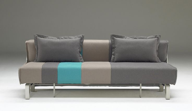 Perfect for small rooms where space has to be optimized. Click sofa has a simple design and a great practicality since can be converted into a comfortable bed, in one simple movement.  Dimensions  81 inches width  40 inches depth